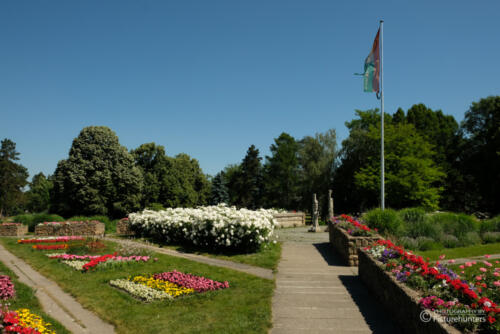 Toll angelegter Donaupark