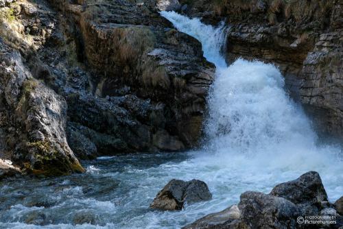 Ein erster Wasserfall