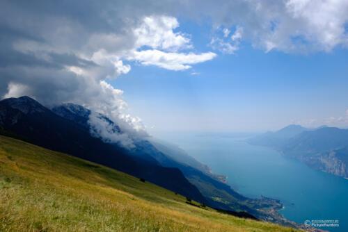 Wolken über dem Monte Baldo