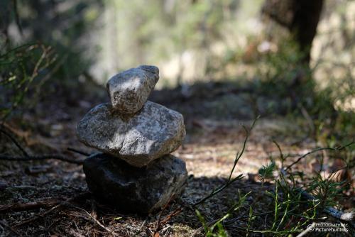 Kleines Steinmännchen