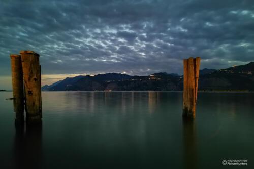 Wolken überm Gardasee