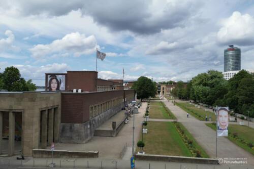 Blick zur Kunsthalle