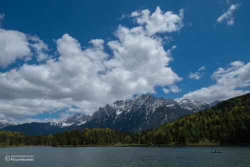 Lautersee und Berge