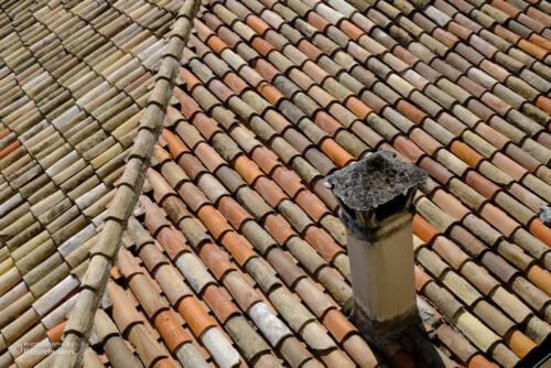 Blick aufs Dach