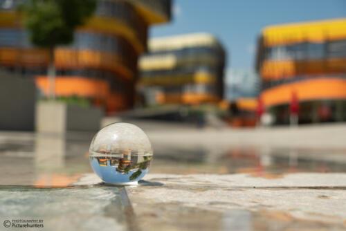 Mit dem Lensball unterwegs