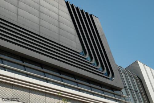 Modernes Bauwerk