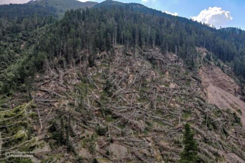 Massive Sturmschäden