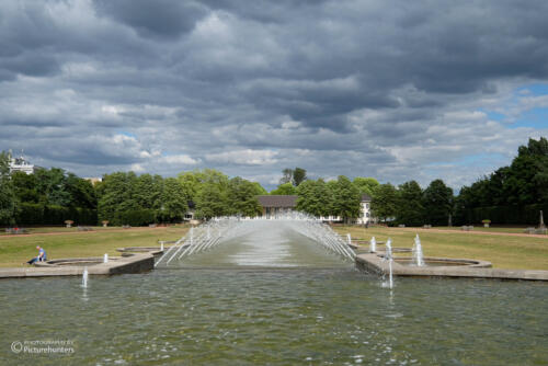 Wolken über dem Nordpark