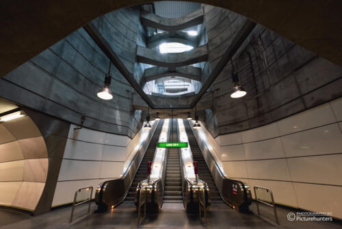 Tolle U-Bahn-Station