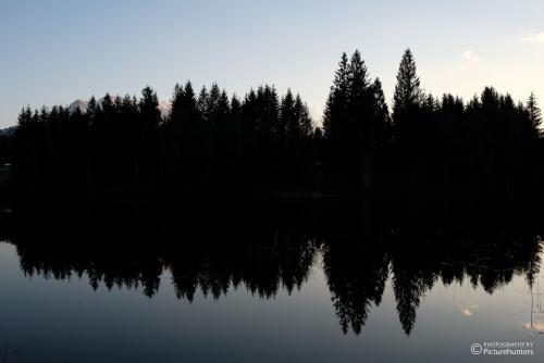 Spiegelung im See