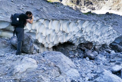 Eisstrukturen fotografieren