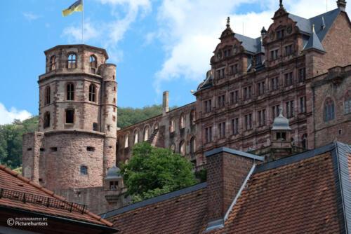 Schloss aus der Nähe