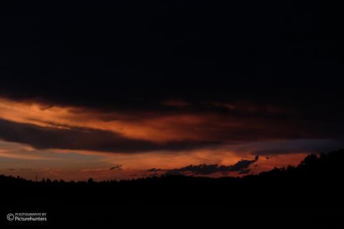 Düsterer Himmel