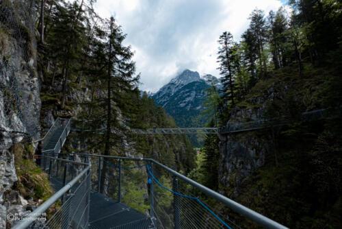 Blick zur großen Brücke