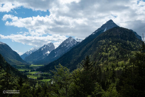 Blick Richtung Österreich