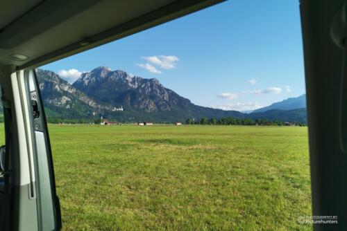 Toller Blick in die Berge