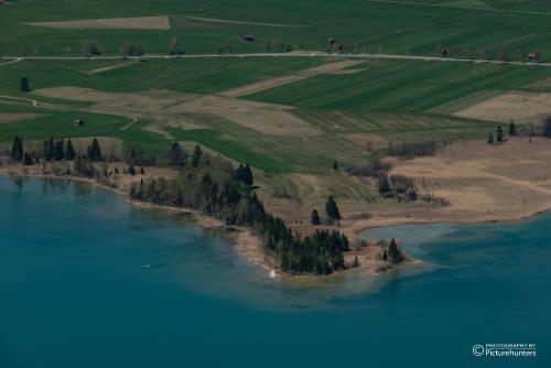 Halbinsel im Kochelsee