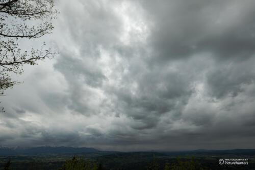 Dicke Wolken