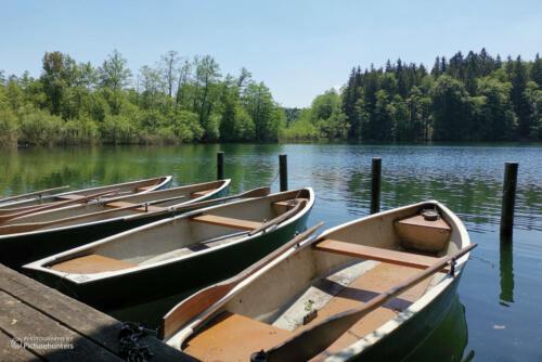 Boote am ersten See